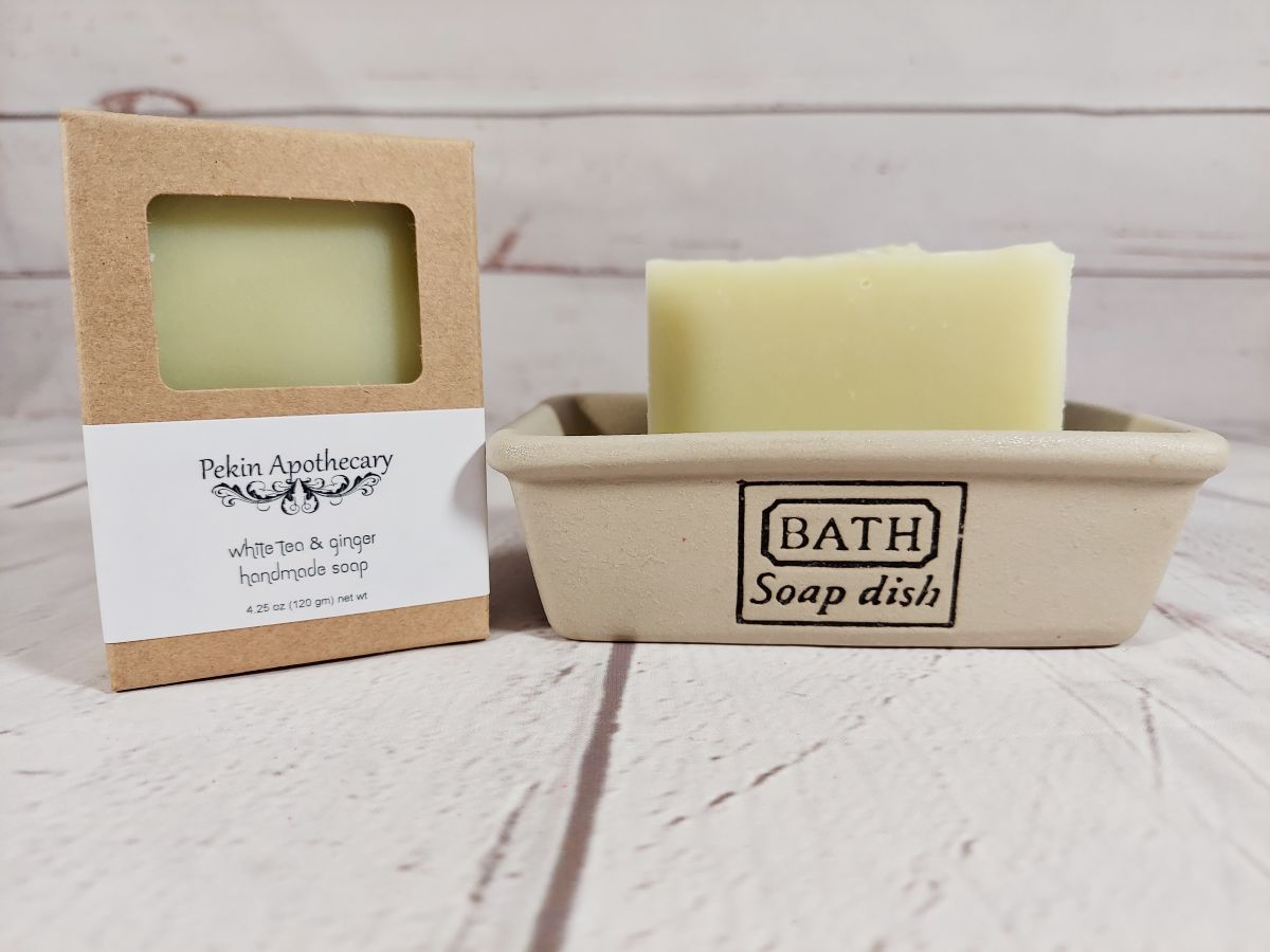 White Tea & Ginger Handmade Soap